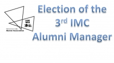 Election of the 3rd IMC Alumni Manager - Announcement of the results