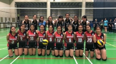 Championship in the Inter-school Girls B Grade Volleyball Competition