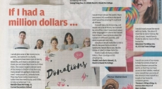 How to spend a million dollars? Our S1 students' creative responses in SCMP Young Post